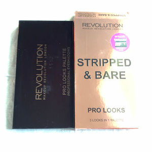 Makeup Revolution Makeup - MUR Stripped & Bare Palette - New, Not Available
